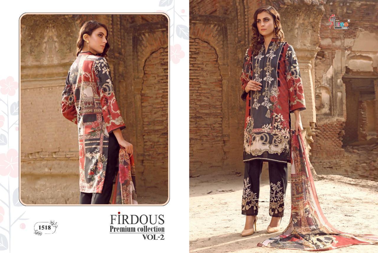 Shree Fabs Firdous Premium Collection Vol 2 Salwar Suit Wholesale Catalog 7 Pcs 4 - Shree Fabs Firdous Premium Collection Vol 2 Salwar Suit Wholesale Catalog 7 Pcs