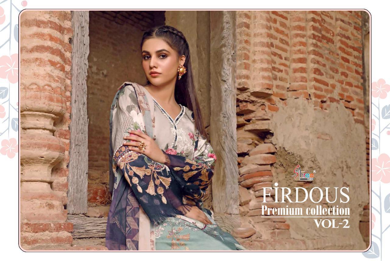 Shree Fabs Firdous Premium Collection Vol 2 Salwar Suit Wholesale Catalog 7 Pcs 8 - Shree Fabs Firdous Premium Collection Vol 2 Salwar Suit Wholesale Catalog 7 Pcs
