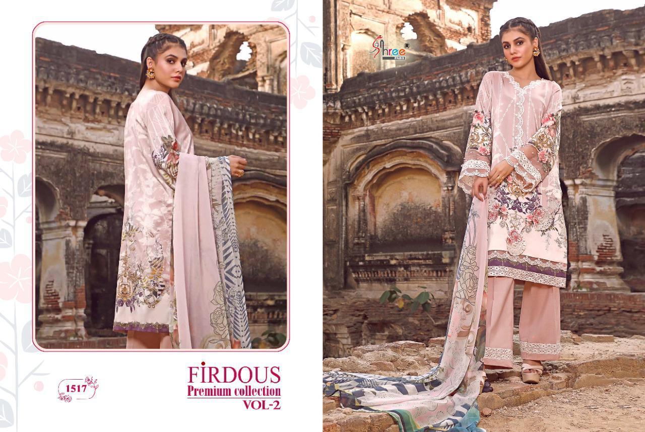 Shree Fabs Firdous Premium Collection Vol 2 Salwar Suit Wholesale Catalog 7 Pcs 9 - Shree Fabs Firdous Premium Collection Vol 2 Salwar Suit Wholesale Catalog 7 Pcs