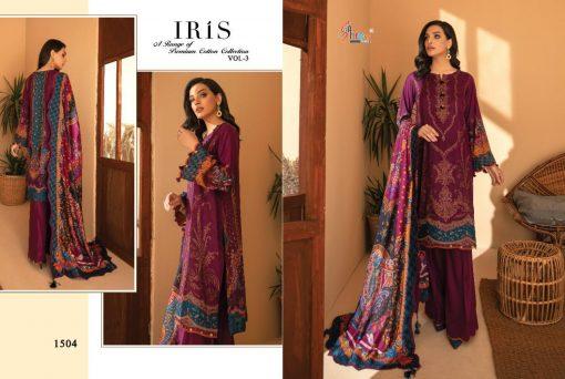 Shree Fabs Iris Vol 3 Premium Cotton Collection Salwar Suit Wholesale Catalog 7 Pcs 6 510x342 - Shree Fabs Iris Vol 3 Premium Cotton Collection Salwar Suit Wholesale Catalog 7 Pcs