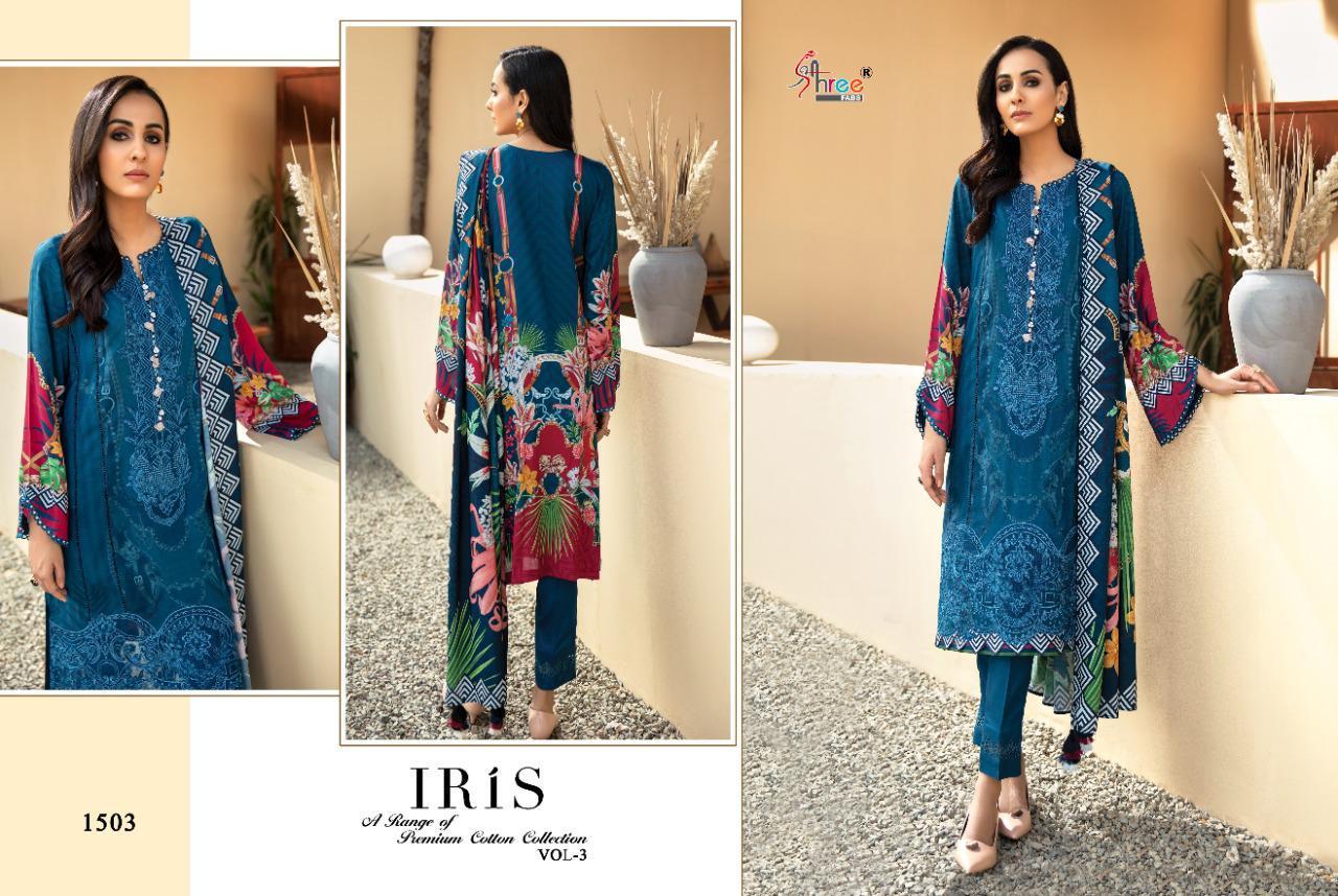 Shree Fabs Iris Vol 3 Premium Cotton Collection Salwar Suit Wholesale Catalog 7 Pcs 8 - Shree Fabs Iris Vol 3 Premium Cotton Collection Salwar Suit Wholesale Catalog 7 Pcs