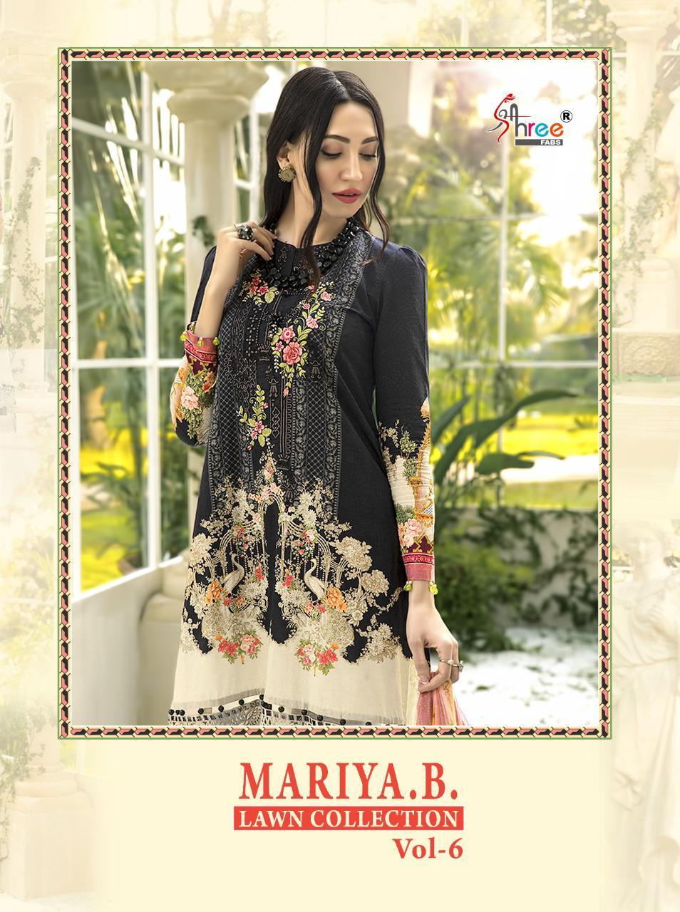 Shree Fabs Mariya B Lawn Collection Vol 6 Salwar Suit Wholesale Catalog 6 Pcs 1 - Shree Fabs Mariya B Lawn Collection Vol 6 Salwar Suit Wholesale Catalog 6 Pcs