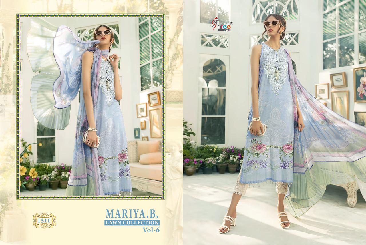 Shree Fabs Mariya B Lawn Collection Vol 6 Salwar Suit Wholesale Catalog 6 Pcs 3 - Shree Fabs Mariya B Lawn Collection Vol 6 Salwar Suit Wholesale Catalog 6 Pcs