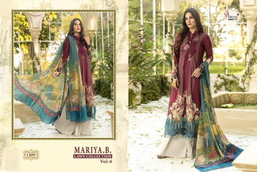Shree Fabs Mariya B Lawn Collection Vol 6 Salwar Suit Wholesale Catalog 6 Pcs 5 510x342 - Shree Fabs Mariya B Lawn Collection Vol 6 Salwar Suit Wholesale Catalog 6 Pcs