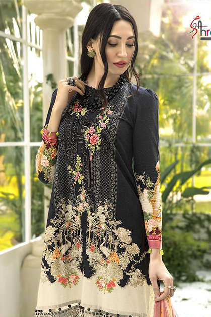 Shree Fabs Mariya B Lawn Collection Vol 6 Salwar Suit Wholesale Catalog 6 Pcs