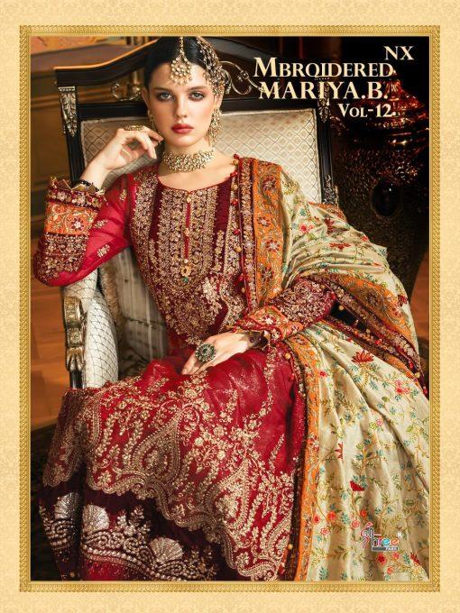 Shree Fabs Mbroidered Mariya B Vol 12 Nx Salwar Suit Wholesale Catalog 3 Pcs 1 510x680 - Shree Fabs Mbroidered Mariya B Vol 12 Nx Salwar Suit Wholesale Catalog 3 Pcs