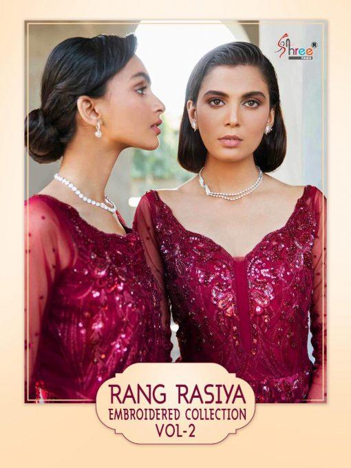 Shree Fabs Rang Rasiya Embroidered Collection Vol 2 Salwar Suit Wholesale Catalog 3 Pcs 1 510x680 - Shree Fabs Rang Rasiya Embroidered Collection Vol 2 Salwar Suit Wholesale Catalog 3 Pcs