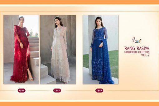 Shree Fabs Rang Rasiya Embroidered Collection Vol 2 Salwar Suit Wholesale Catalog 3 Pcs 7 510x340 - Shree Fabs Rang Rasiya Embroidered Collection Vol 2 Salwar Suit Wholesale Catalog 3 Pcs
