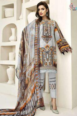 Shree Fabs Rangrez Premium Lawn Collection Vol 1 Salwar Suit Wholesale Catalog 6 Pcs