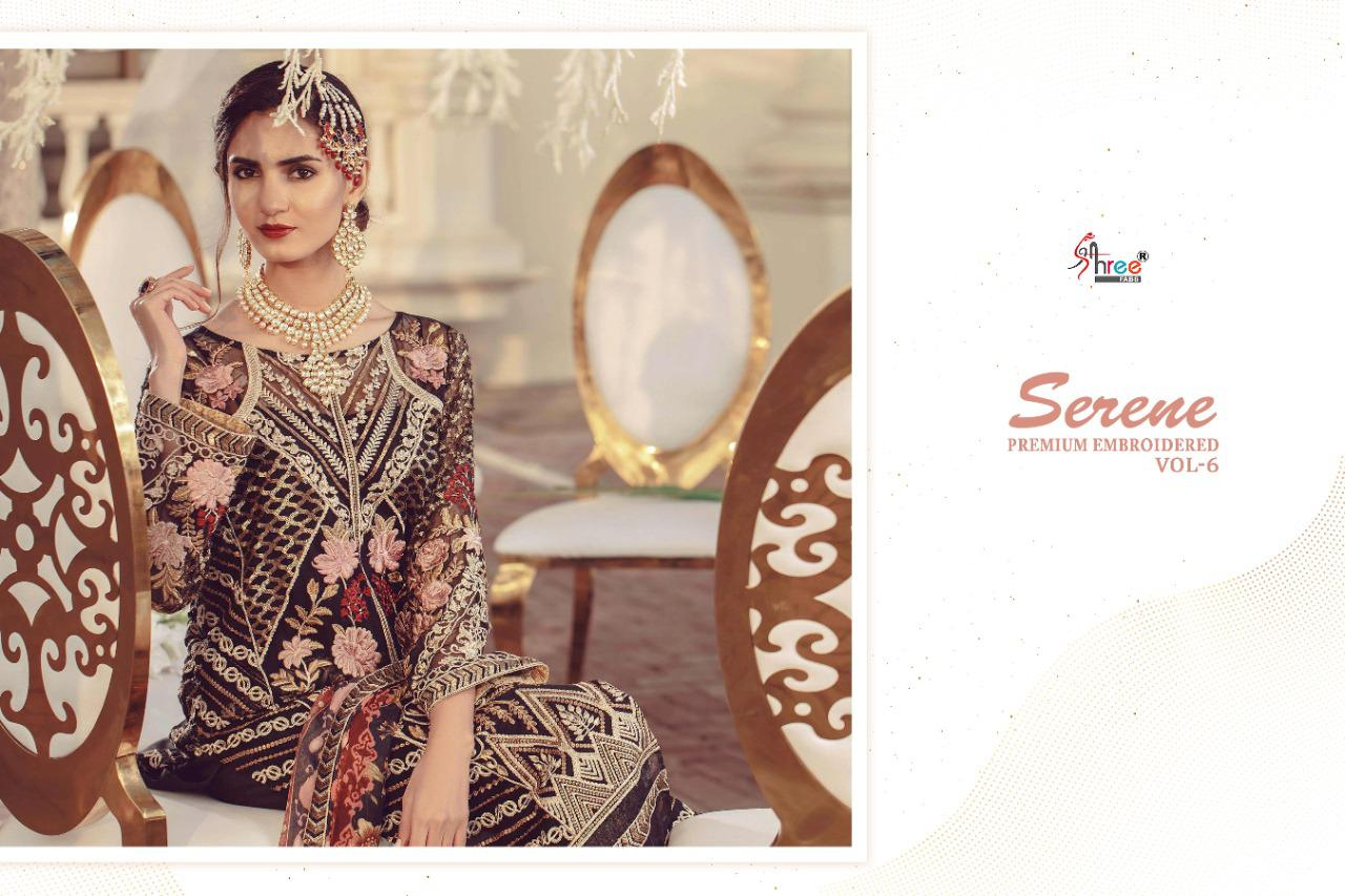 Shree Fabs Serene Premium Embroiderd Vol 6 Salwar Suit Wholesale Catalog 6 Pcs 8 - Shree Fabs Serene Premium Embroiderd Vol 6 Salwar Suit Wholesale Catalog 6 Pcs