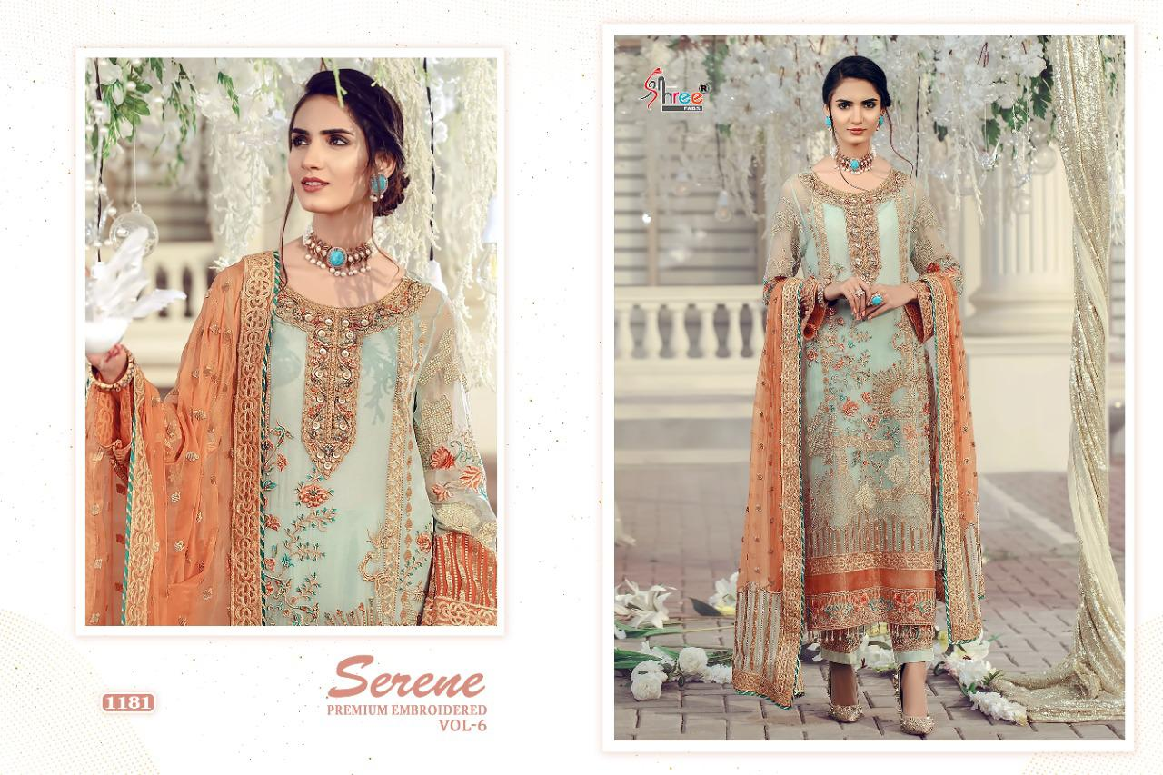 Shree Fabs Serene Premium Embroiderd Vol 6 Salwar Suit Wholesale Catalog 6 Pcs 9 - Shree Fabs Serene Premium Embroiderd Vol 6 Salwar Suit Wholesale Catalog 6 Pcs