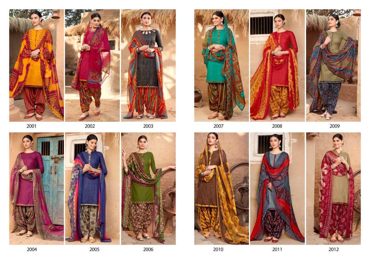 Sweety Pankhi Vol 2 Salwar Suit Wholesale Catalog 12 Pcs 14 - Sweety Pankhi Vol 2 Salwar Suit Wholesale Catalog 12 Pcs