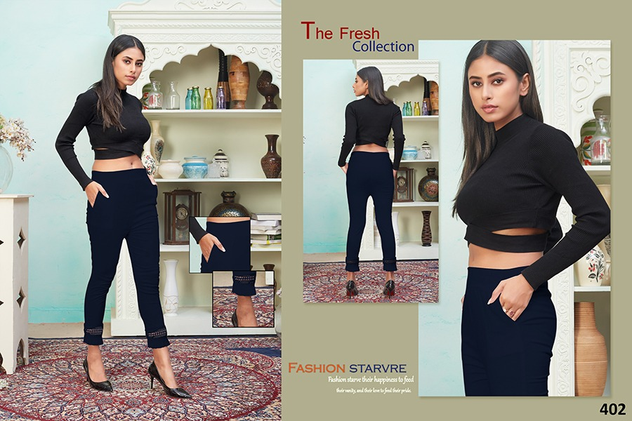 Tejaswee Pencil Vol 4 Pant Wholesale Catalog 11 Pcs 12 - Tejaswee Pencil Vol 4 Pant Wholesale Catalog 11 Pcs