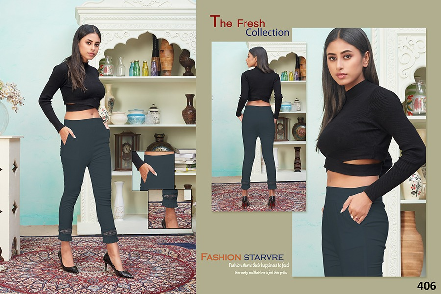 Tejaswee Pencil Vol 4 Pant Wholesale Catalog 11 Pcs 16 - Tejaswee Pencil Vol 4 Pant Wholesale Catalog 11 Pcs