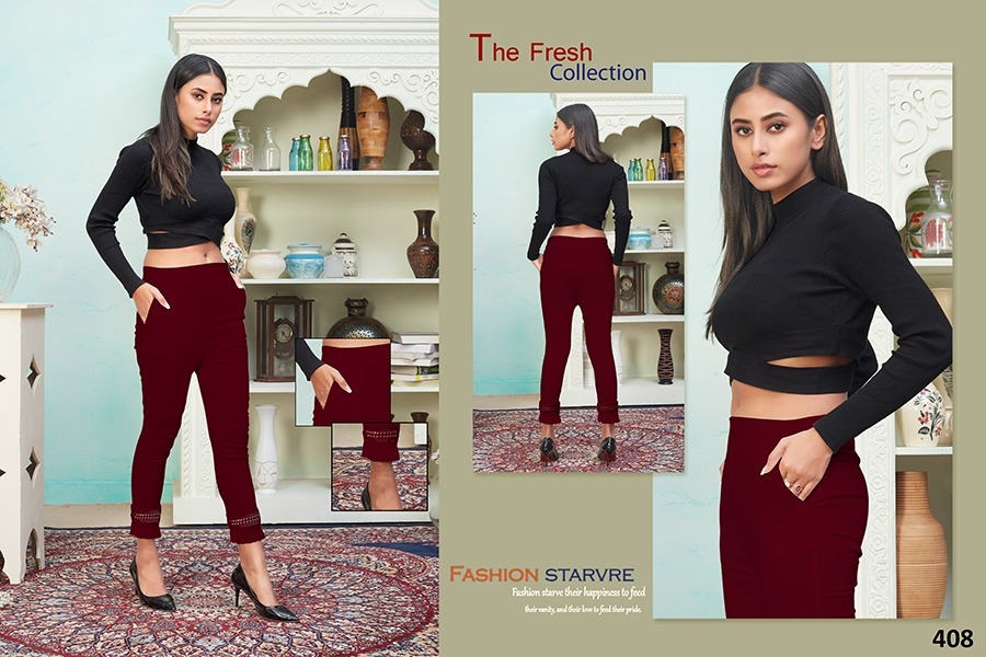 Tejaswee Pencil Vol 4 Pant Wholesale Catalog 11 Pcs 18 - Tejaswee Pencil Vol 4 Pant Wholesale Catalog 11 Pcs