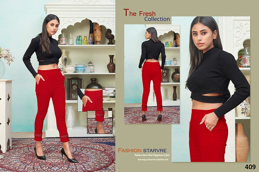 Tejaswee Pencil Vol 4 Pant Wholesale Catalog 11 Pcs 19 - Tejaswee Pencil Vol 4 Pant Wholesale Catalog 11 Pcs