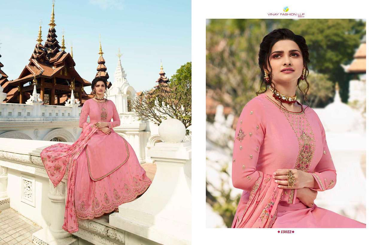 Vinay Kaseesh Lifestyle Vol 3 Prachi Desai Salwar Suit Wholesale Catalog 8 Pcs 10 - Vinay Kaseesh Lifestyle Vol 3 Prachi Desai Salwar Suit Wholesale Catalog 8 Pcs