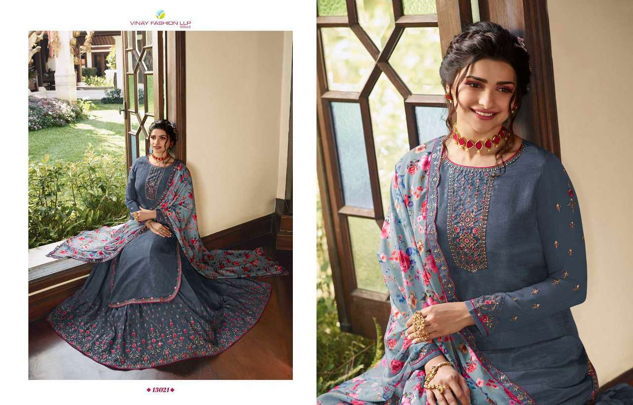 Vinay Kaseesh Lifestyle Vol 3 Prachi Desai Salwar Suit Wholesale Catalog 8 Pcs 13 - Vinay Kaseesh Lifestyle Vol 3 Prachi Desai Salwar Suit Wholesale Catalog 8 Pcs