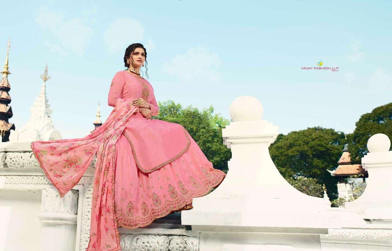 Vinay Kaseesh Lifestyle Vol 3 Prachi Desai Salwar Suit Wholesale Catalog 8 Pcs 17 - Vinay Kaseesh Lifestyle Vol 3 Prachi Desai Salwar Suit Wholesale Catalog 8 Pcs