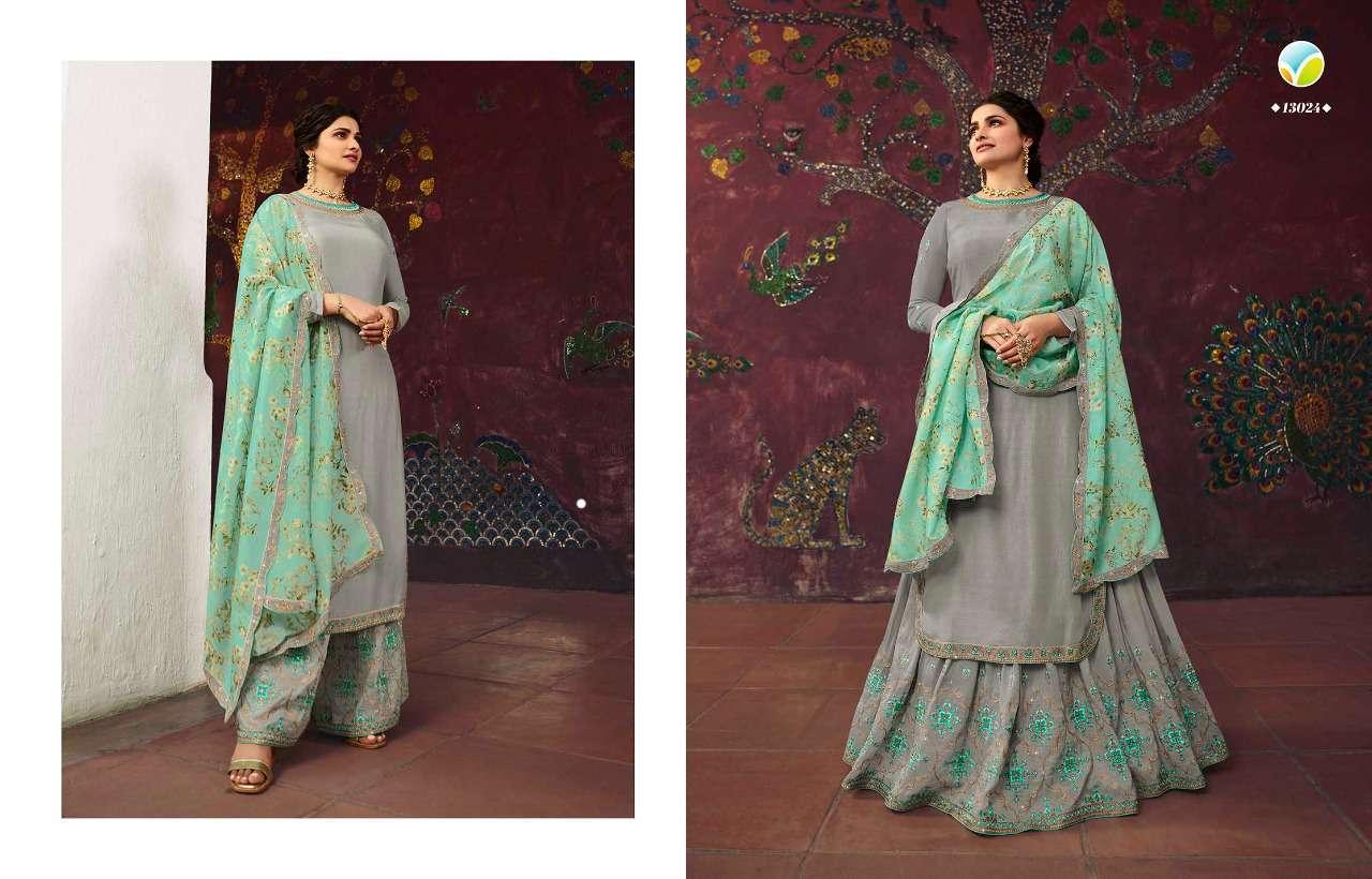 Vinay Kaseesh Lifestyle Vol 3 Prachi Desai Salwar Suit Wholesale Catalog 8 Pcs 8 - Vinay Kaseesh Lifestyle Vol 3 Prachi Desai Salwar Suit Wholesale Catalog 8 Pcs
