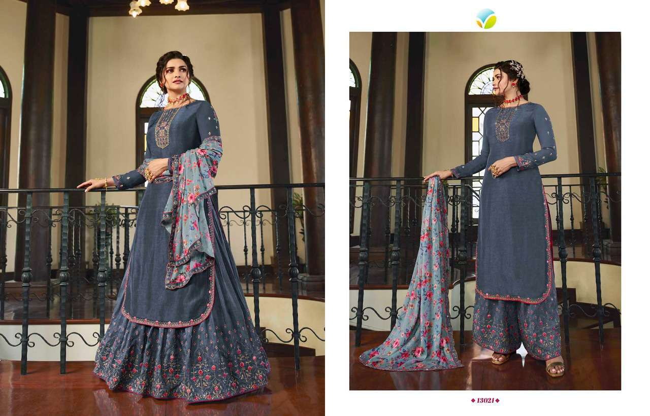 Vinay Kaseesh Lifestyle Vol 3 Prachi Desai Salwar Suit Wholesale Catalog 8 Pcs 9 - Vinay Kaseesh Lifestyle Vol 3 Prachi Desai Salwar Suit Wholesale Catalog 8 Pcs