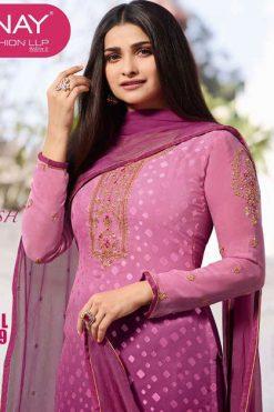 Vinay Kaseesh Magical Brasso Vol 9 Prachi Desai Salwar Suit Wholesale Catalog 8 Pcs