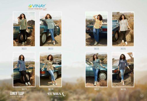 Vinay Tumbaa Only Top Wholesale Catalog 8 Pcs 15 510x351 - Vinay Tumbaa Only Top Wholesale Catalog 8 Pcs