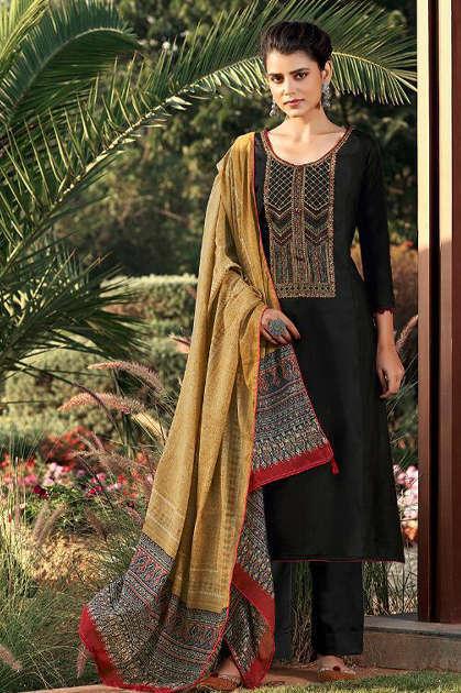 Adinath Pakeeza Salwar Suit Wholesale Catalog 6 Pcs