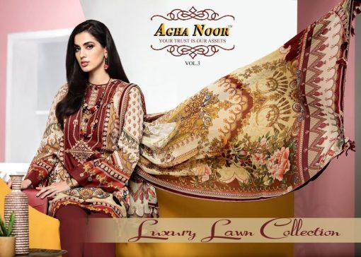 Agha Noor Vol 3 Luxury Lawn Collection Salwar Suit Wholesale Catalog 10 Pcs 1 510x364 - Agha Noor Vol 3 Luxury Lawn Collection Salwar Suit Wholesale Catalog 10 Pcs