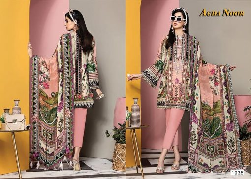 Agha Noor Vol 3 Luxury Lawn Collection Salwar Suit Wholesale Catalog 10 Pcs 6 510x364 - Agha Noor Vol 3 Luxury Lawn Collection Salwar Suit Wholesale Catalog 10 Pcs