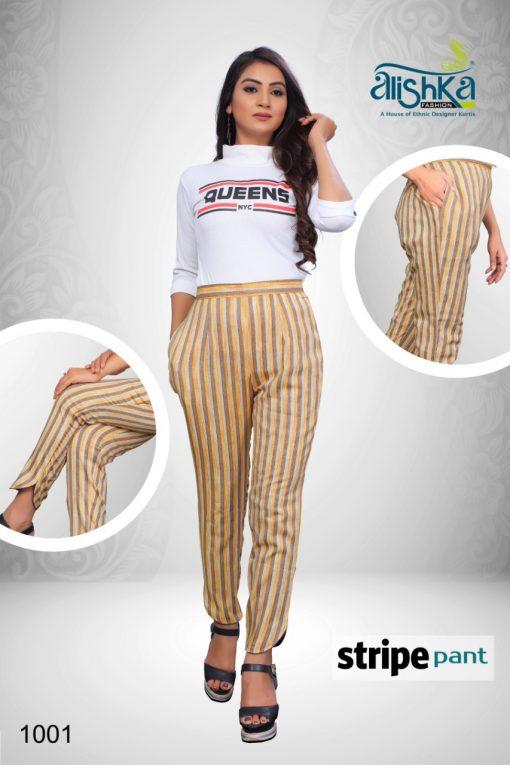 Alishka Stripe Pant Wholesale Catalog 4 Pcs 2 510x765 - Alishka Stripe Pant Wholesale Catalog 4 Pcs