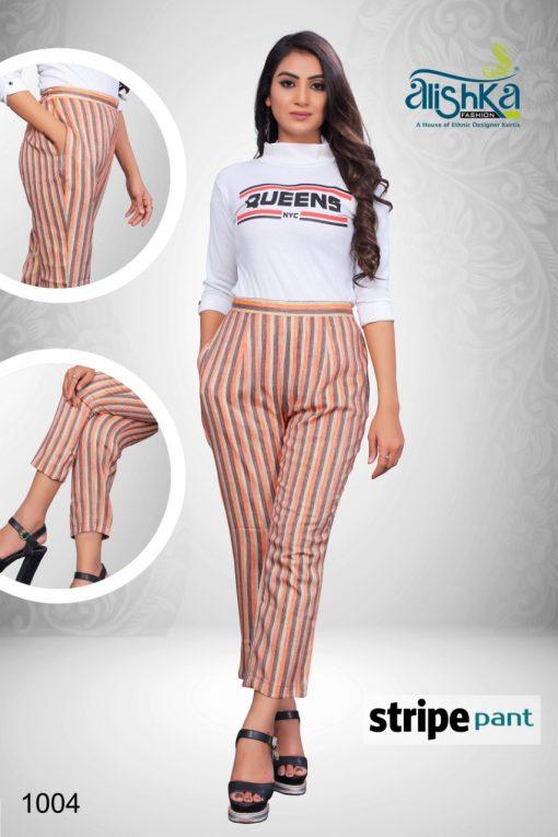 Alishka Stripe Pant Wholesale Catalog 4 Pcs 3 510x765 - Alishka Stripe Pant Wholesale Catalog 4 Pcs