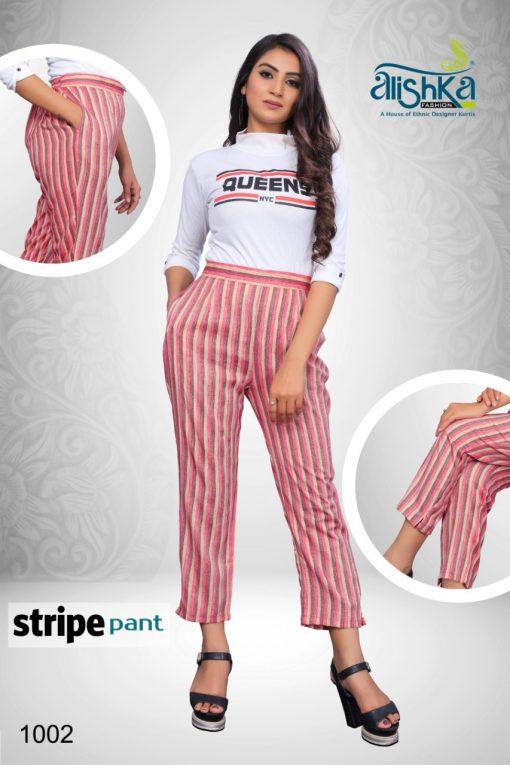 Alishka Stripe Pant Wholesale Catalog 4 Pcs 4 510x765 - Alishka Stripe Pant Wholesale Catalog 4 Pcs