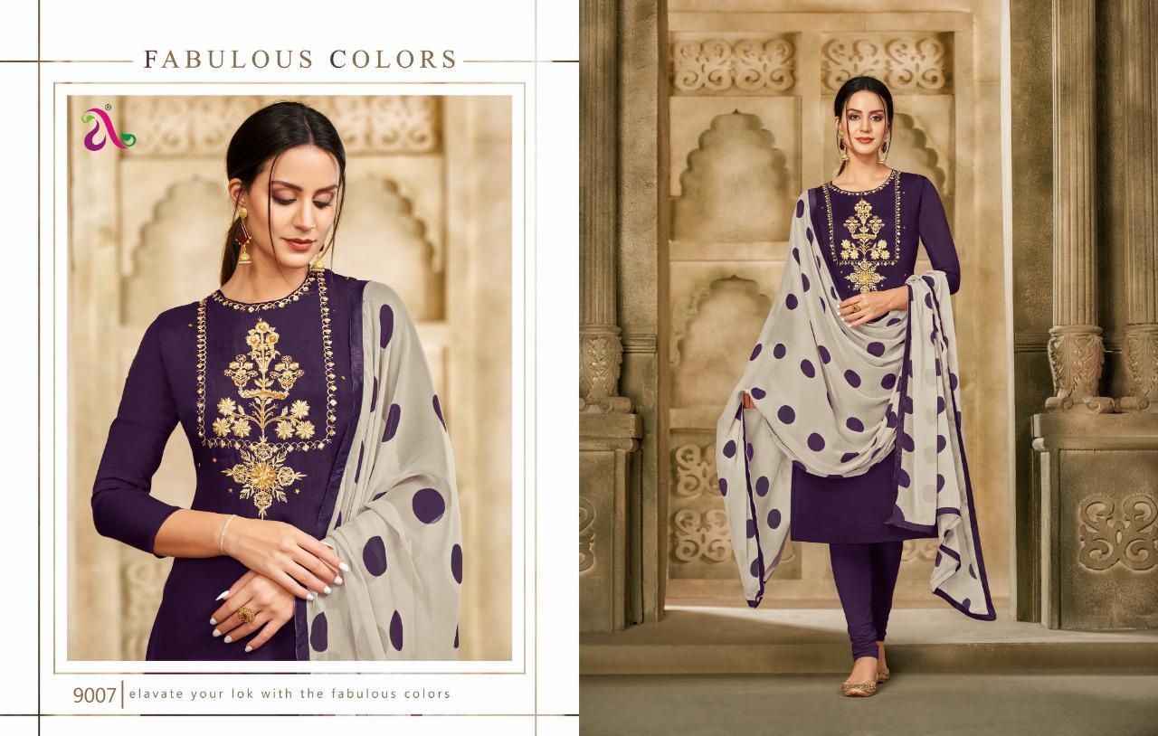 Angroop Dairy Milk Vol 33 Salwar Suit Wholesale Catalog 16 Pcs 8 - Angroop Dairy Milk Vol 33 Salwar Suit Wholesale Catalog 16 Pcs