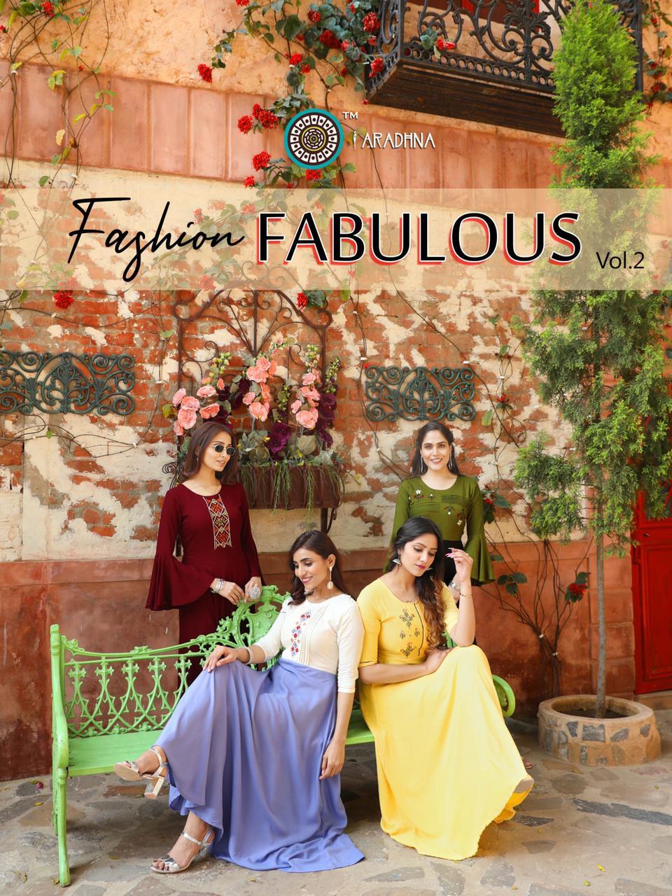 Aradhna Fashion Fabulous Vol 2 Kurti Wholesale Catalog 12 Pcs 1 - Aradhna Fashion Fabulous Vol 2 Kurti Wholesale Catalog 12 Pcs