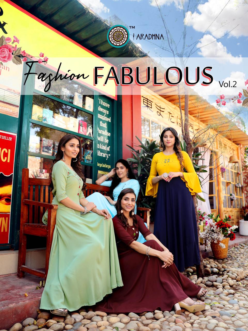 Aradhna Fashion Fabulous Vol 2 Kurti Wholesale Catalog 12 Pcs 2 - Aradhna Fashion Fabulous Vol 2 Kurti Wholesale Catalog 12 Pcs