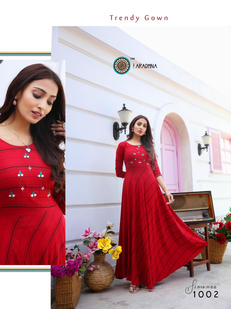 Aradhna Simonaa Vol 1 Kurti Wholesale Catalog 8 Pcs 2 - Aradhna Simonaa Vol 1 Kurti Wholesale Catalog 8 Pcs
