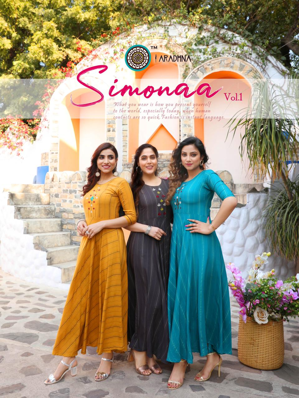 Aradhna Simonaa Vol 1 Kurti Wholesale Catalog 8 Pcs 3 - Aradhna Simonaa Vol 1 Kurti Wholesale Catalog 8 Pcs