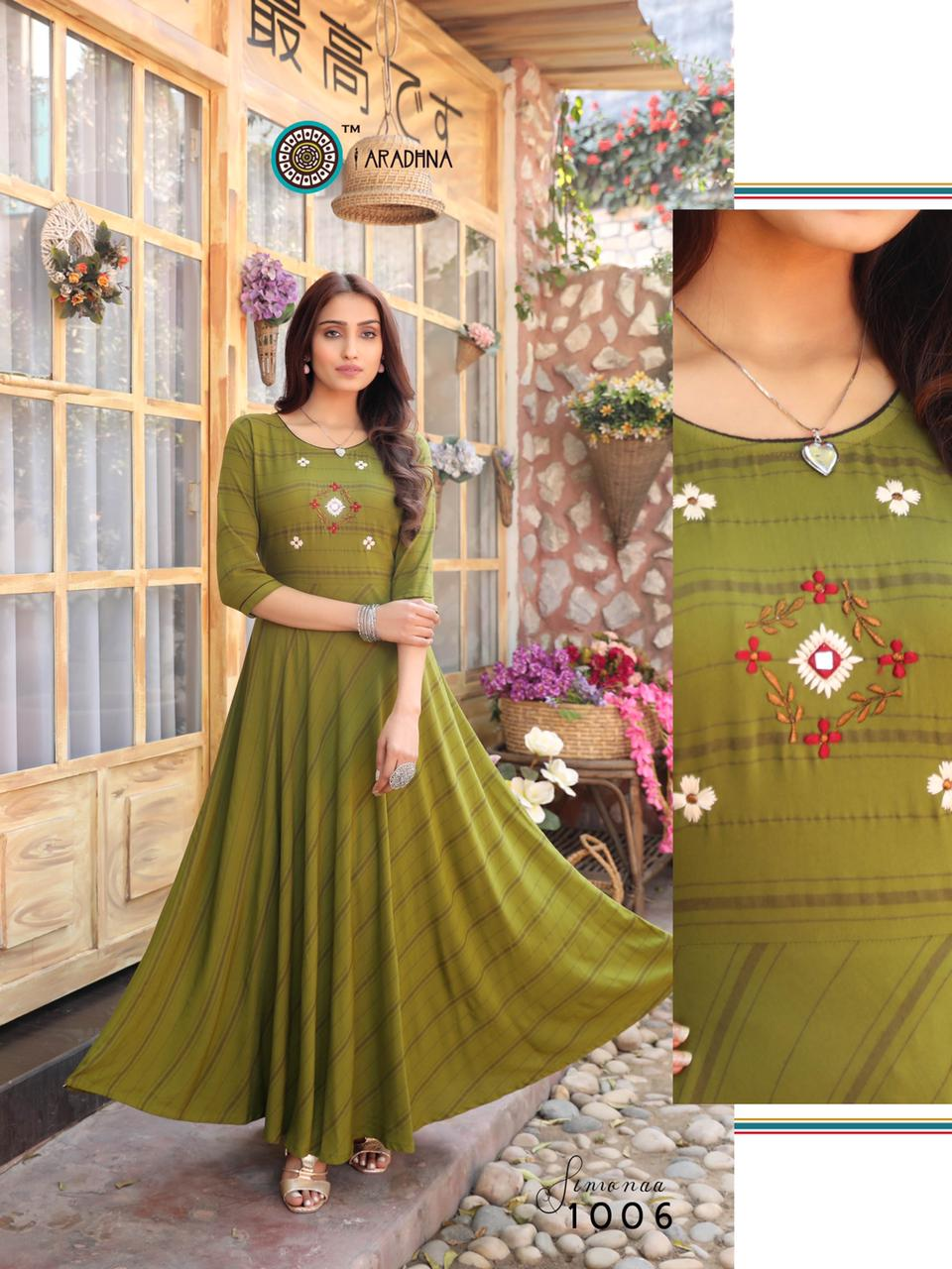 Aradhna Simonaa Vol 1 Kurti Wholesale Catalog 8 Pcs 9 - Aradhna Simonaa Vol 1 Kurti Wholesale Catalog 8 Pcs