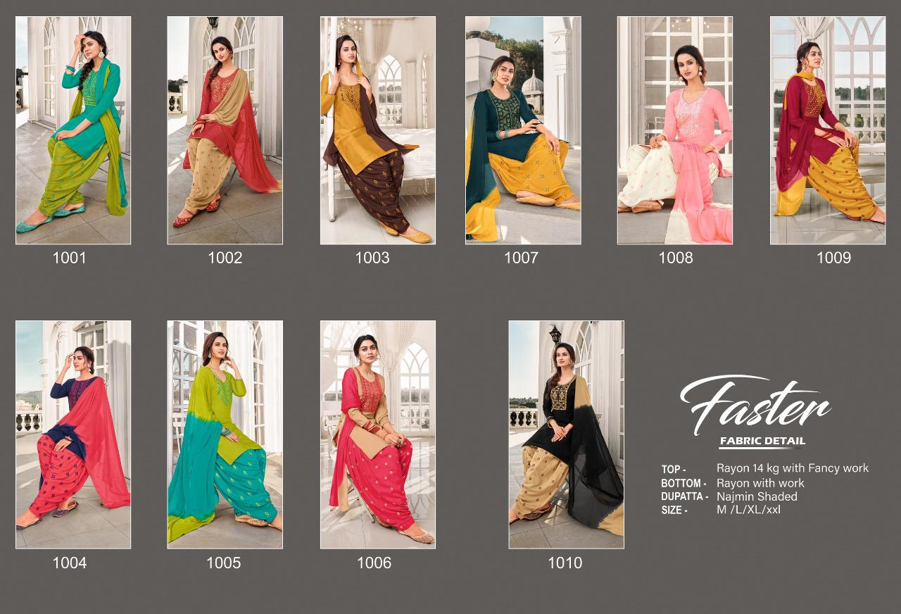 Artio Faster by Kapil Trendz Readymade Salwar Suit Wholesale Catalog 10 Pcs 12 - Artio Faster by Kapil Trendz Readymade Salwar Suit Wholesale Catalog 10 Pcs