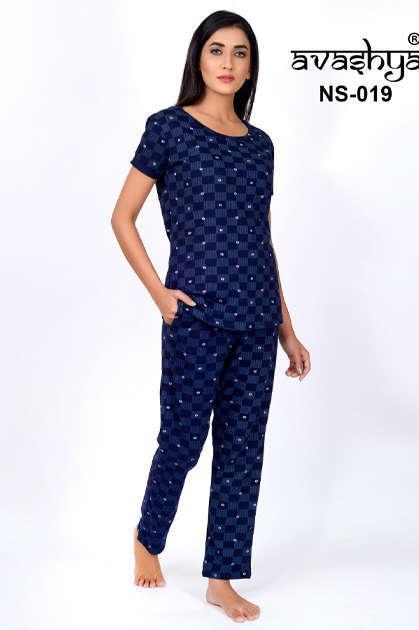 Avashya Premium Night Wear Vol 4 Wholesale Catalog 6 Pcs