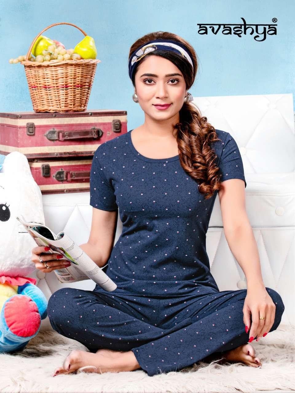 Avashya Premium Night Wear Vol 5 Wholesale Catalog 6 Pcs 2 - Avashya Premium Night Wear Vol 5 Wholesale Catalog 6 Pcs