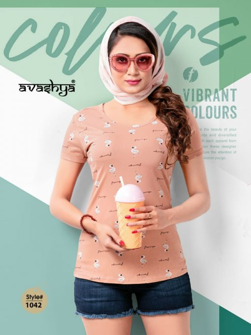 Avashya Retro Vol 53 Half Sleeves T Shirt Wholesale Catalog 6 Pcs 4 510x680 - Avashya Retro Vol 53 Half Sleeves T-Shirt Wholesale Catalog 6 Pcs