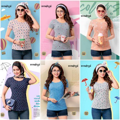Avashya Retro Vol 53 Half Sleeves T Shirt Wholesale Catalog 6 Pcs 6 510x510 - Avashya Retro Vol 53 Half Sleeves T-Shirt Wholesale Catalog 6 Pcs