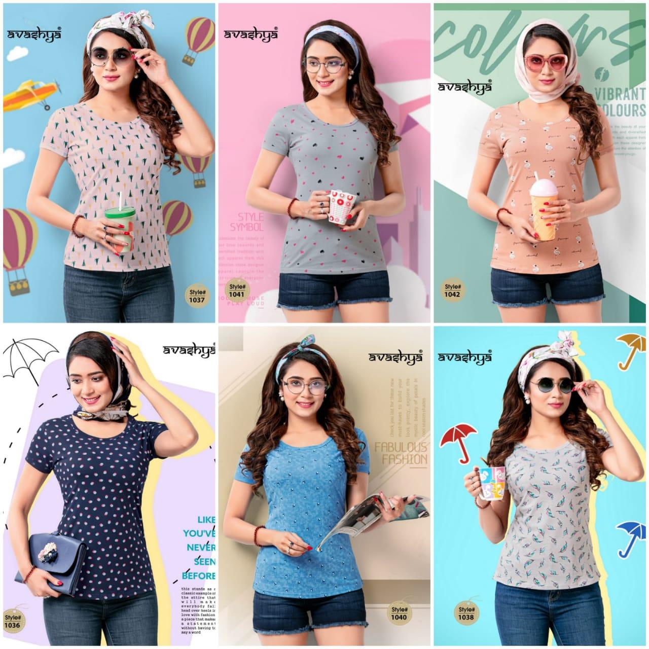 Avashya Retro Vol 53 Half Sleeves T Shirt Wholesale Catalog 6 Pcs 6 - Avashya Retro Vol 53 Half Sleeves T-Shirt Wholesale Catalog 6 Pcs