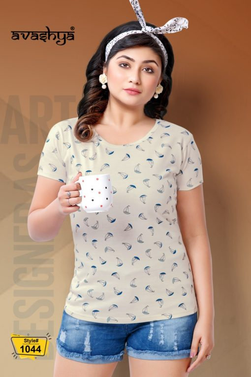Avashya Retro Vol 54 Half Sleeves T Shirt Wholesale Catalog 6 Pcs 2 1 510x765 - Avashya Retro Vol 54 Half Sleeves T-Shirt Wholesale Catalog 6 Pcs