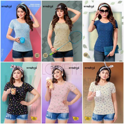 Avashya Retro Vol 54 Half Sleeves T Shirt Wholesale Catalog 6 Pcs 7 1 510x510 - Avashya Retro Vol 54 Half Sleeves T-Shirt Wholesale Catalog 6 Pcs