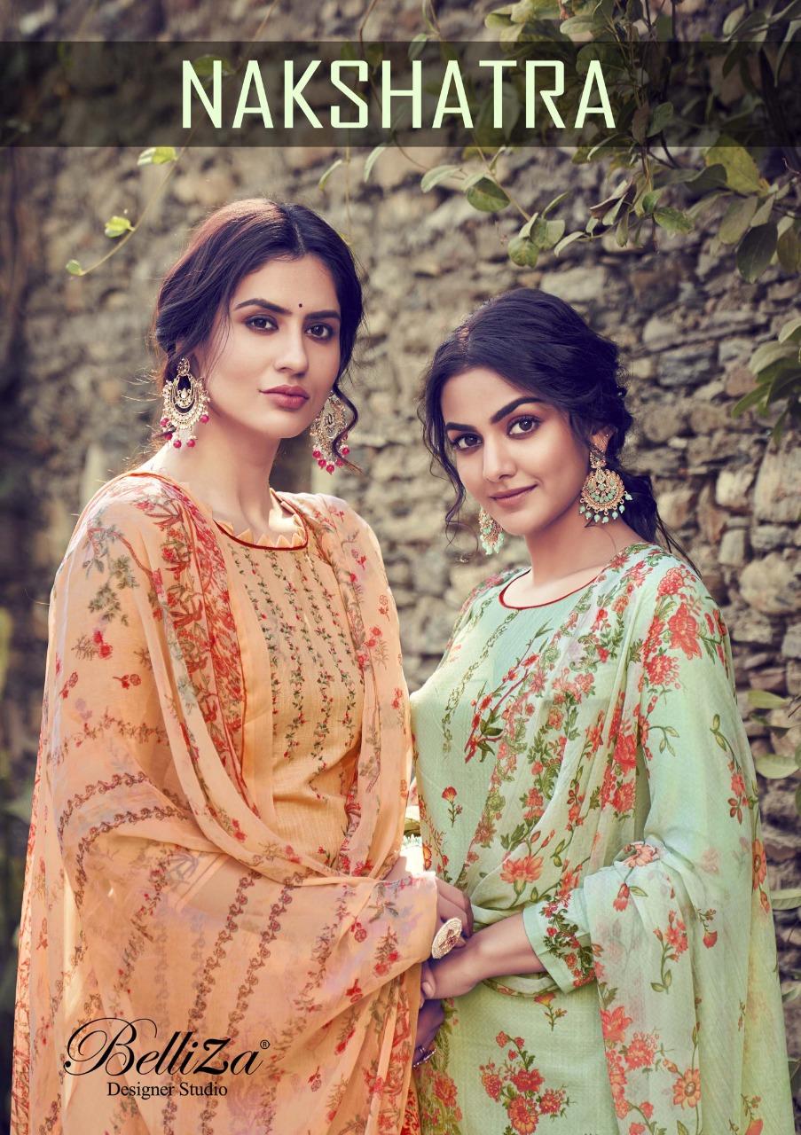 Belliza Nakshatra Salwar Suit Wholesale Catalog 10 Pcs 1 - Belliza Nakshatra Salwar Suit Wholesale Catalog 10 Pcs