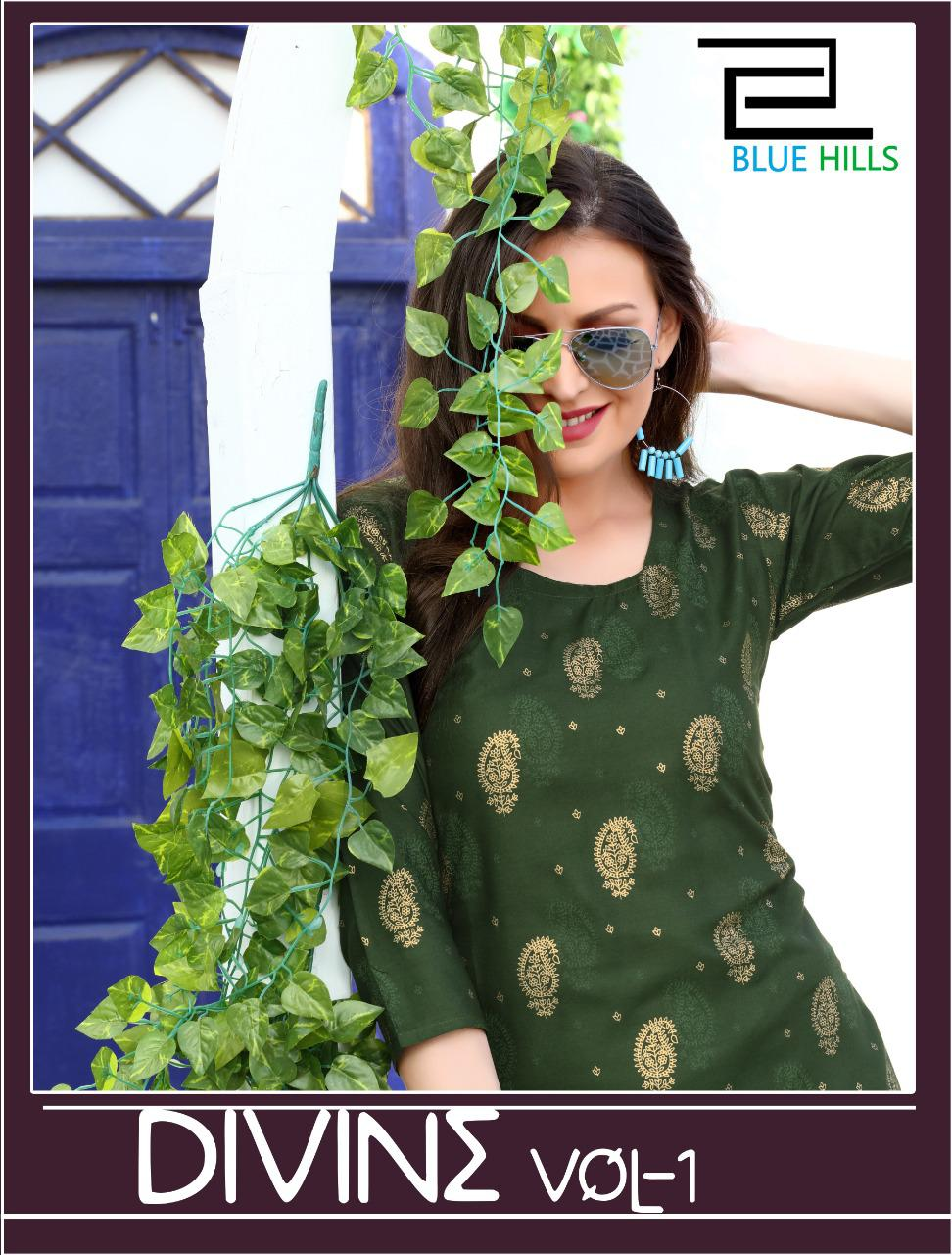 Blue Hills Divine Vol 1 Kurti Wholesale Catalog 12 Pcs 4 - Blue Hills Divine Vol 1 Kurti Wholesale Catalog 12 Pcs