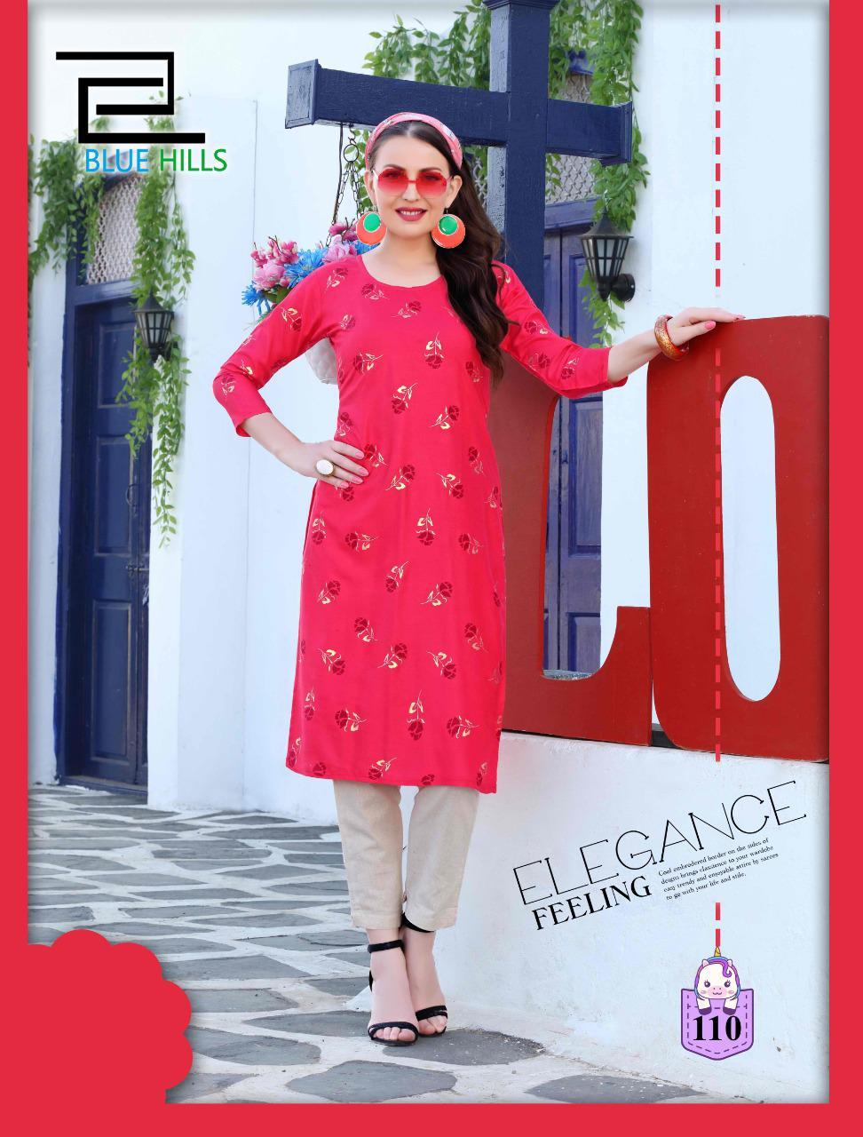 Blue Hills Divine Vol 1 Kurti Wholesale Catalog 12 Pcs 8 - Blue Hills Divine Vol 1 Kurti Wholesale Catalog 12 Pcs